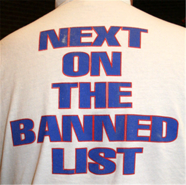 Image result for in the banned list