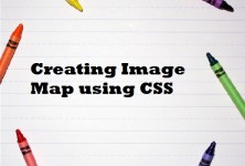 Creating Image Map using CSS