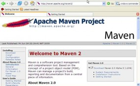 maven documentation screen 285x175 Selenium Is The Best Open Source Automation Testing Tool for Web