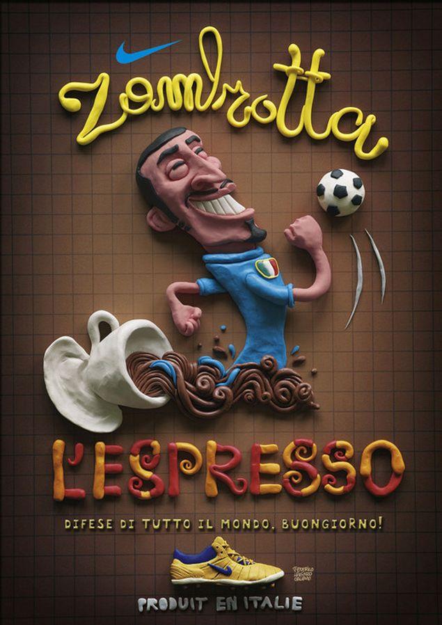 typography zambrotta lespresso 25 Innovative and Creative Typography Designs