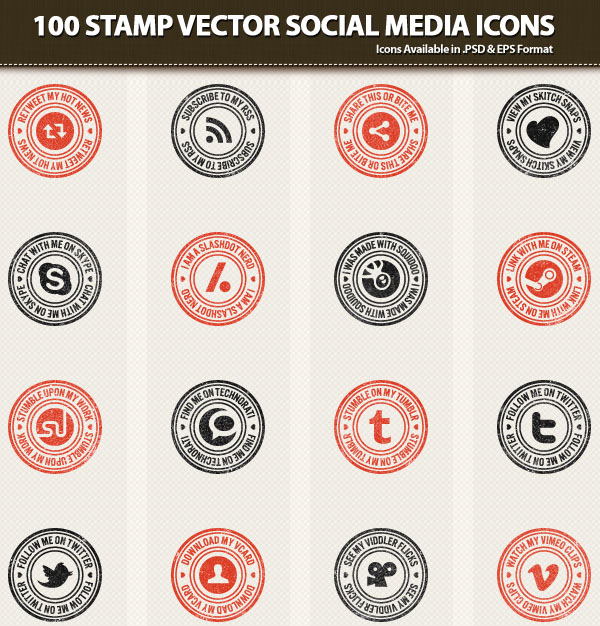 stamp-like-vector-icons