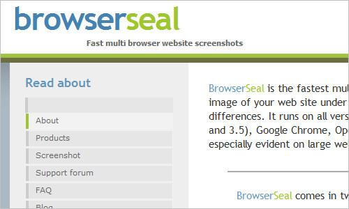 Browserseal-testing-tool