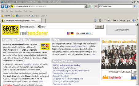 IE-NetRenderer-Browser-Compatibility-tool