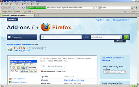IE Tab add on for firefox browser 12 Best Cross Browser Compatibility Testing Tools