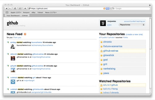 github Popular Open Source Version Control systems